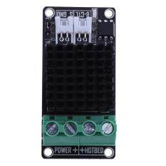 3D Printer Hot Bed Extruder High Power 30A Current Load Mini MOS Module (Black)