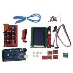 3D Printer Kit RAMPS 1.4 MEGA2560 A4988 LCD 12864 Controller Board – intl