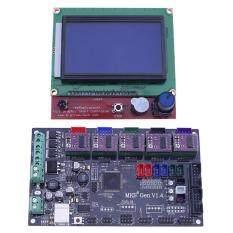 3D Printer MKS GEN V1.4 Mainboard+LCD 12864 Display+5pcs DRV8825 Driver