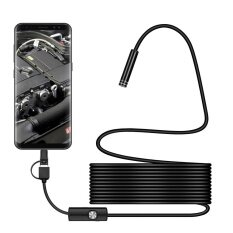 3in1 Android USB Type-C Endoscope Inspection 7mm Camera 6 LED HD Waterproof 1.5M Malaysia