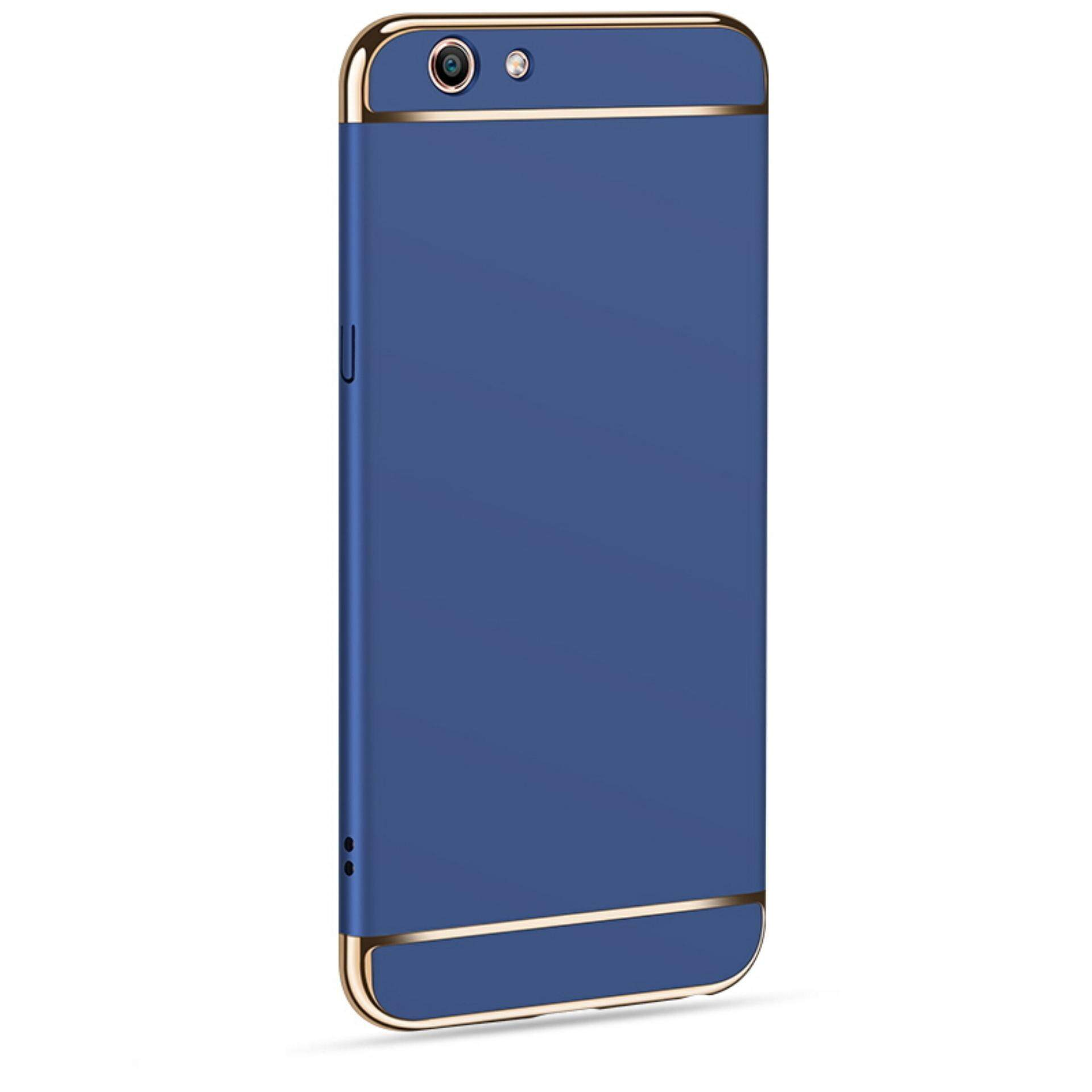 POPO BALL 3in1 Ultra-thin Electroplated PC Back Cover Case for Vivo Y53MYR32. MYR