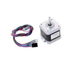 4-Lead Nema17 Stepper Motor 42 Motor Nema 17 Motor 42bygh 40mm 1.7a (17hs4401) Motor By Greenwind.