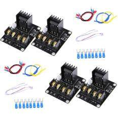 4 pcs Heat Hot Bed Power Module MOS Tube High Current Load Module Kit for 3D Printer