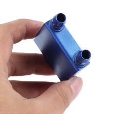 40*40mm Blue Aluminium Water Cooling Heatsink Block Liquid Cooler for CPU GPU Malaysia