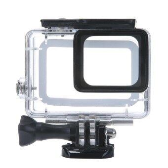 Black Durable Color : Black Black Edition Waterproof Housing Protective Case with Buckle Basic Mount for GoPro HERO4 // 3+ Waterproof Depth: 10m