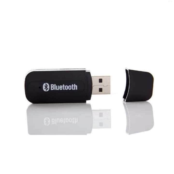 4CONNECT USB Bluetooth 3.5mm Stereo Audio Music Receiver Adapter Dongle For Speaker