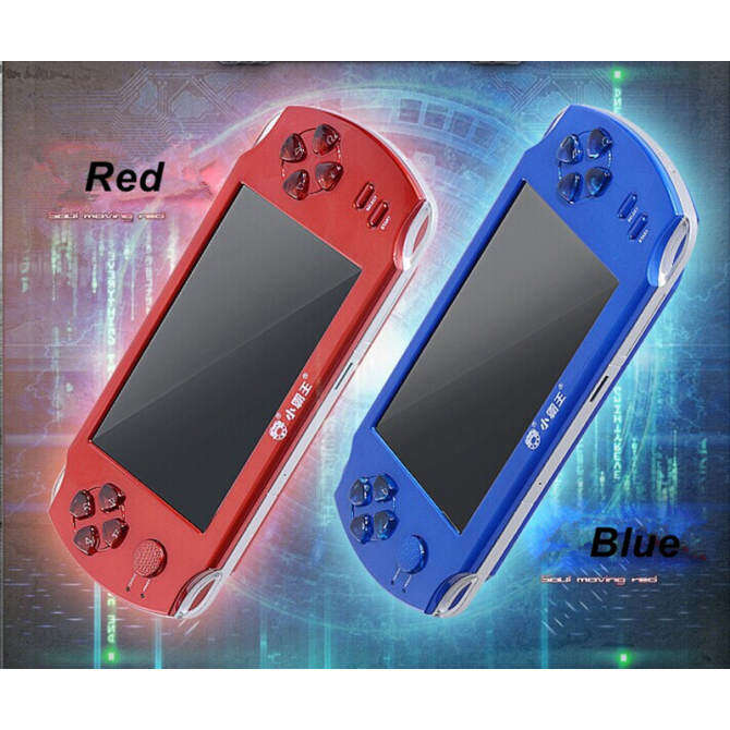 5 Inch 8g Big Screen Psp Game Player 9000+ Free Games Handheld Gba Consoles.