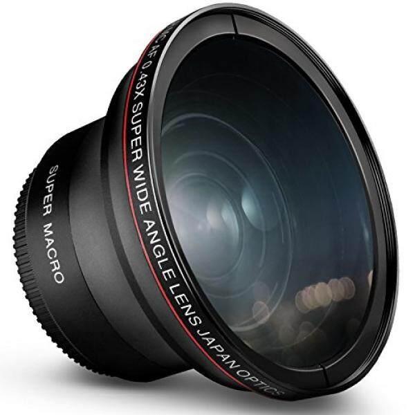 52 Mm 0.43x Pasir Gudang Profesional Foto HD Lensa Sudut Lebar (W/Makro Porsi) untuk Nikon D7100 D7000 D5500 D5300 D5200 D5100 D3300 D3200 D3100 D3000 Kamera DSLR-Intl