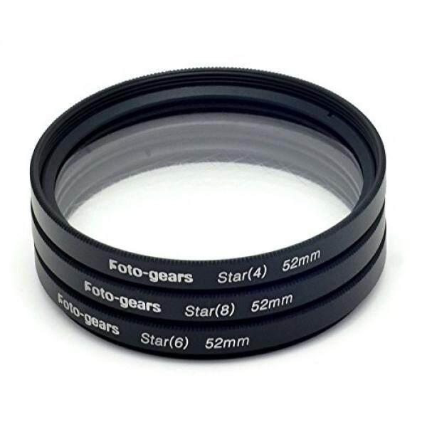52 Mm Star-Efek Cross Filter Starburst Twinkle Efek Tiffen Filter 4 6 8 Point Set untuk Canon Nikon -Intl