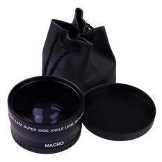 58mm 0.45X Wide Angle Macro Lens For Canon EOS 450D 500D 550D 600D 1100D
