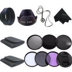 58 Mm Perlengkapan Filter Uv CPL Polarizer ND2 4 8 untuk Canon EOS 1200D 750D 700D 600D Lensa