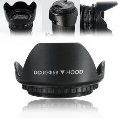 58 Mm Upgrade Tutup Lensa untuk Canon 700D 100D 650D 600D 550D 1200D 1100D 18-55 Mm
