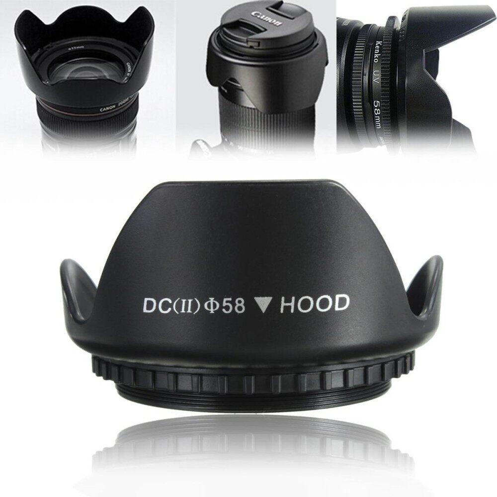 58 Mm Upgrade Tutup Lensa untuk Canon 700D 100D 650D 600D 550D 1200D 1100D 18-55 Mm-Intl