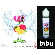 Spek Harga Smart Premium E Liquid Rokok Elektrik Lychee 2 Pcs Dan Source · 60Ml Bibu