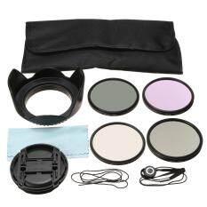 67 Mm UV CPLE FLD ND4 Lensa Polarisasi Perlengkapan Filter Cap untuk Nikon Canon Sigma Tamron