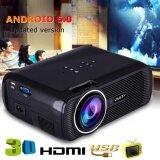 7000 Lumens Uhappy U80 PRO Multimedia Android6.0 1080P LED WIFI Cinema Projector AU Plug
