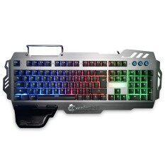 7pin PK900 Gaming Keyboard with RGB Backlight 104 Keys Malaysia