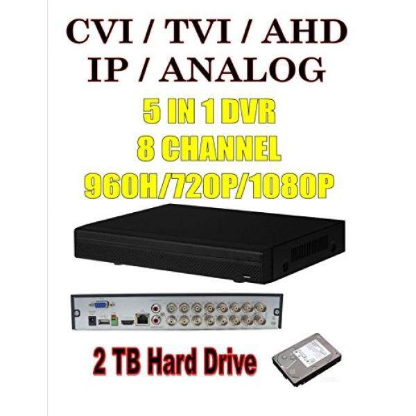 8 Saluran DVR + 4 IP TV = 12 Total Perekam CCTV 5 In 1 HDCVI AHD TVI CVBS IP Tri-Brid penta-Brid 1080 P 720 P 960 H Dahua dengan MIC Input 2 TB Perangkat Keras-Internasional