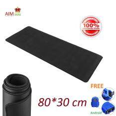 AIM MALL 80*30 / 90*40 cm Extra Large size Smooth Surface and Anti-Slip Gaming Mouse Pad (Black) Malaysia