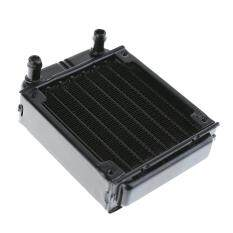 80mm Aluminum Water Cooling Radiator Computer PC Water Cooling System Part(Black) Malaysia