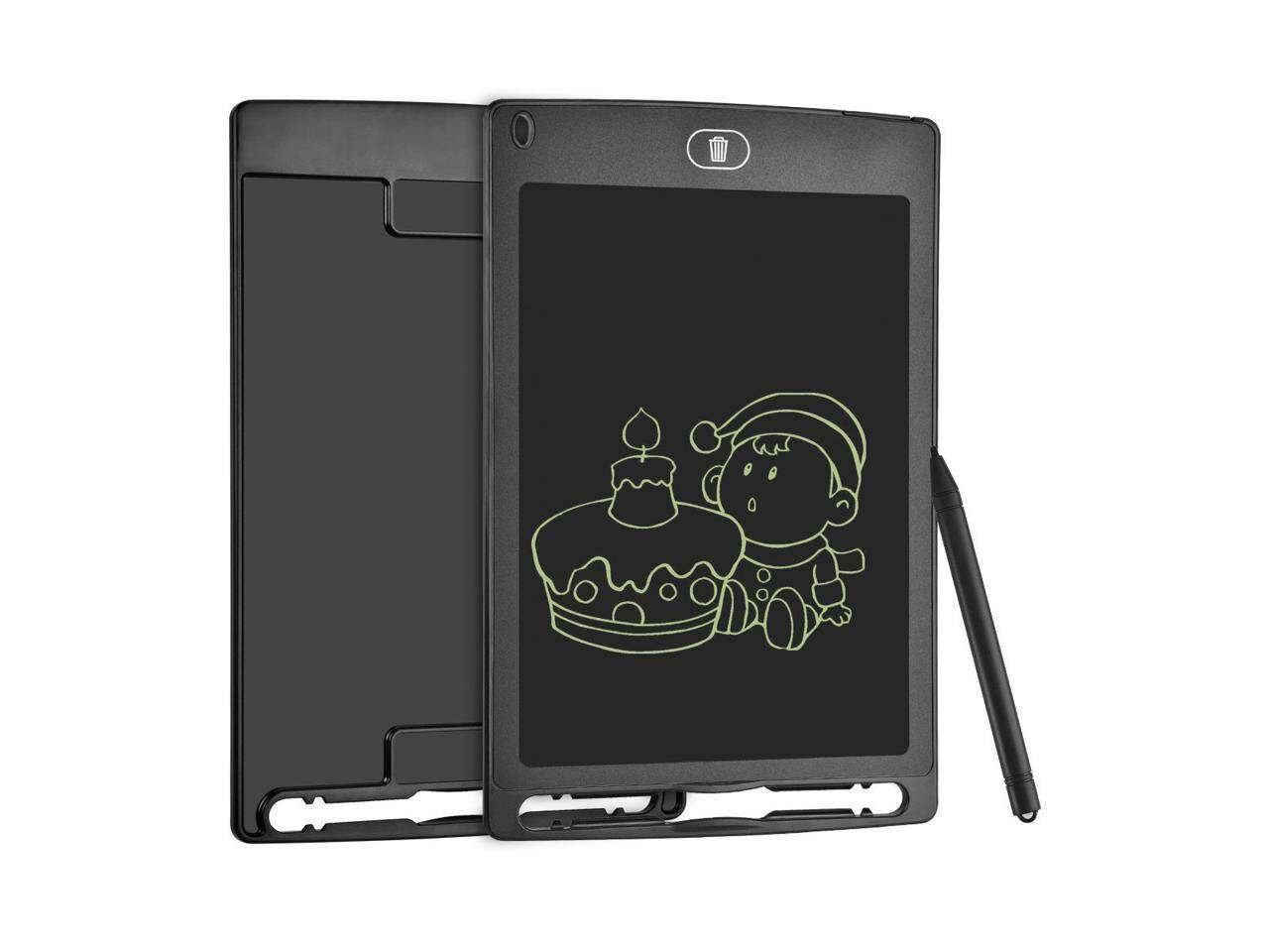 8.5 Inch Screen Portable LCD Writing Tablet, Lock Electronic Drawing Board,Handwriting Notepad with stylus for Kids and Adults at Home,School and Work Office-Black - intl