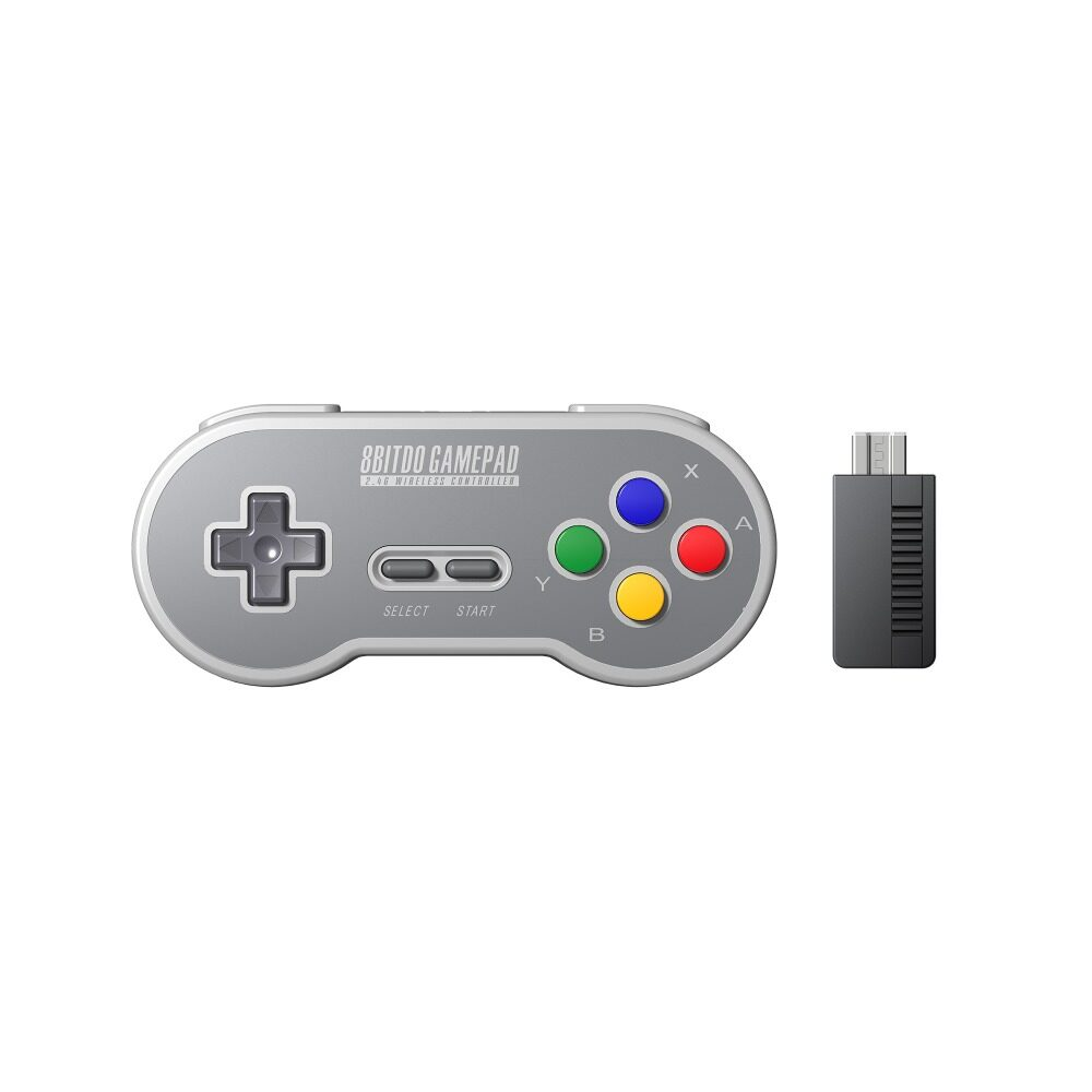 Buy 8Bitdo Sf30 Sn30 2 4G Wireless Game Pad Controller For Snes Classic Edition Intl 8Bitdo Cheap