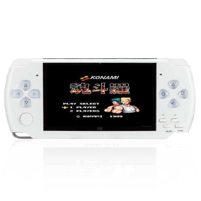 8 GB 4.3 Inch Permainan Genggam Konsol dengan 1000 Klasik Permainan GBA, Mendukung Video Bermain built-In 3 M Kamera Warna: Putih-Intl