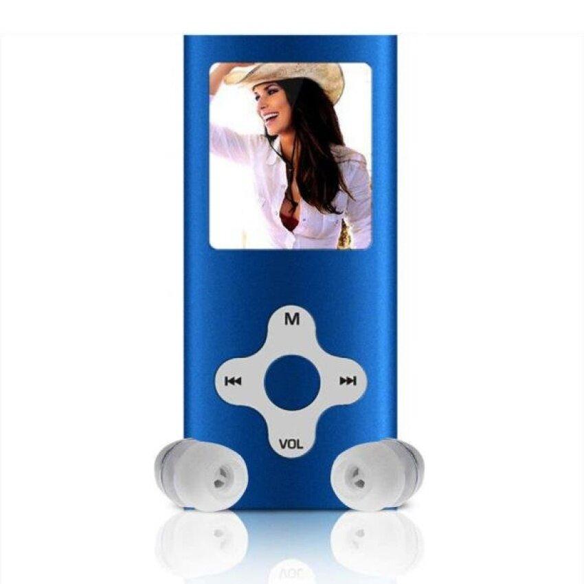 8GB Slim Digital MP3 MP4 Player 1.8inch LCD Screen FM Radio VideoGames Movie Blue