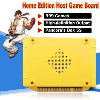 999 IN 1 Pandora's Box 5S Games Arcade Video Console CPU Board English Version Yellow