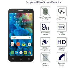 9H HD Clear Tempered Glass Screen Protector Film For Alcatel POP 4