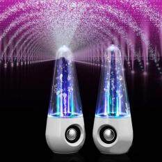 KACOO 2017 LED Colorful Lights Water Dance Fountain Speaker HIFI 3D Surround Subwoofer Stereo Support Smartphone Computer Music Player Malaysia