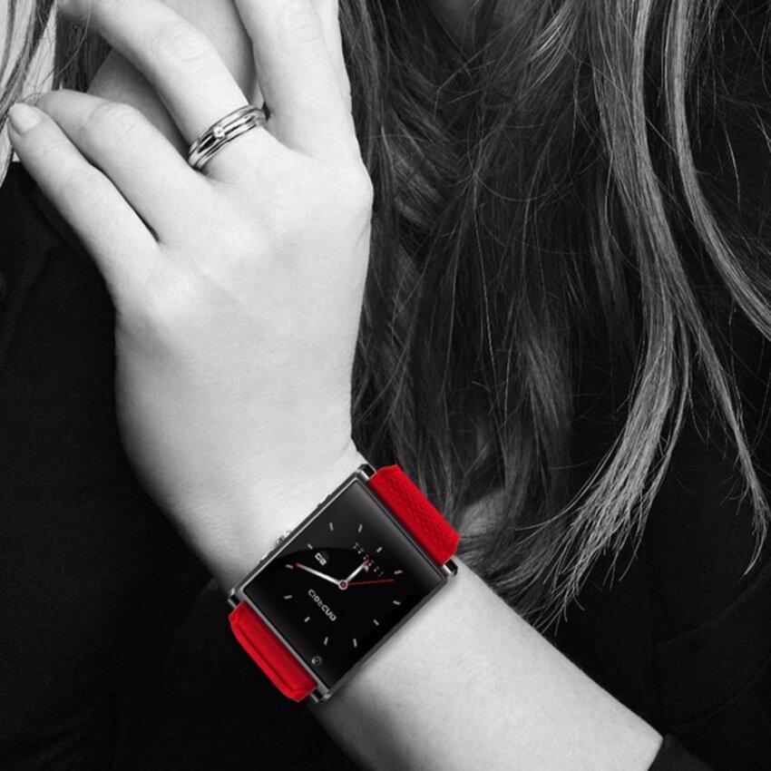 Legoal BW05 1.54 Inch Layar AMOLED Android 5.1 OS Bluetooth Smartwatch 3G WIFI Navigasi GPS Olahraga Jam Cerdas Pedometer untuk Android dan IOS (Merah) -Intl