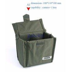 A1 Kamera Portabel Tas Kamera Tahan Air Tahan Lama Nilon Tempat Penyimpanan untuk DSLR Nikon Canon Sony