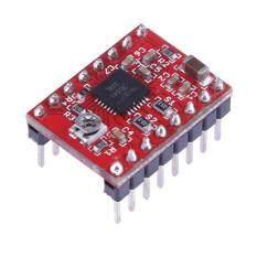 A4988 Stepper Motor Driver Module for 3D Printer RepRap StepStick(Red)