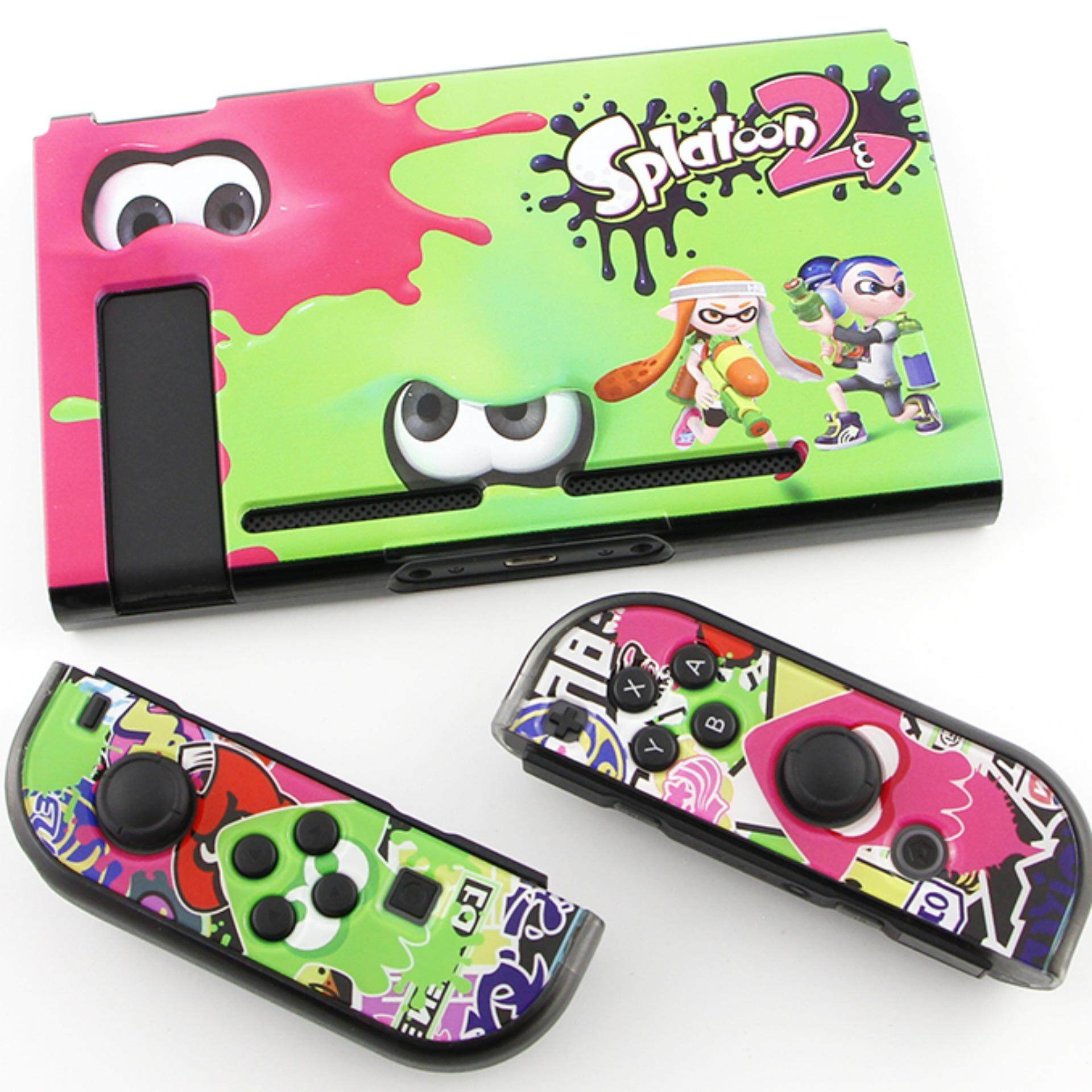 Buy Sell Cheapest Splatoon 2 Nintendo Best Quality Product Deals Switch Quick Pouch Splatoon2 Abs Protective Cover Case For Ns Nx Handheld Game Console And Controllers