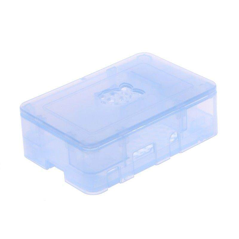 ABS Updated Case Premium Raspberry Pi Case For Raspberry Pi 3 2 and B+ Light Blue - intl