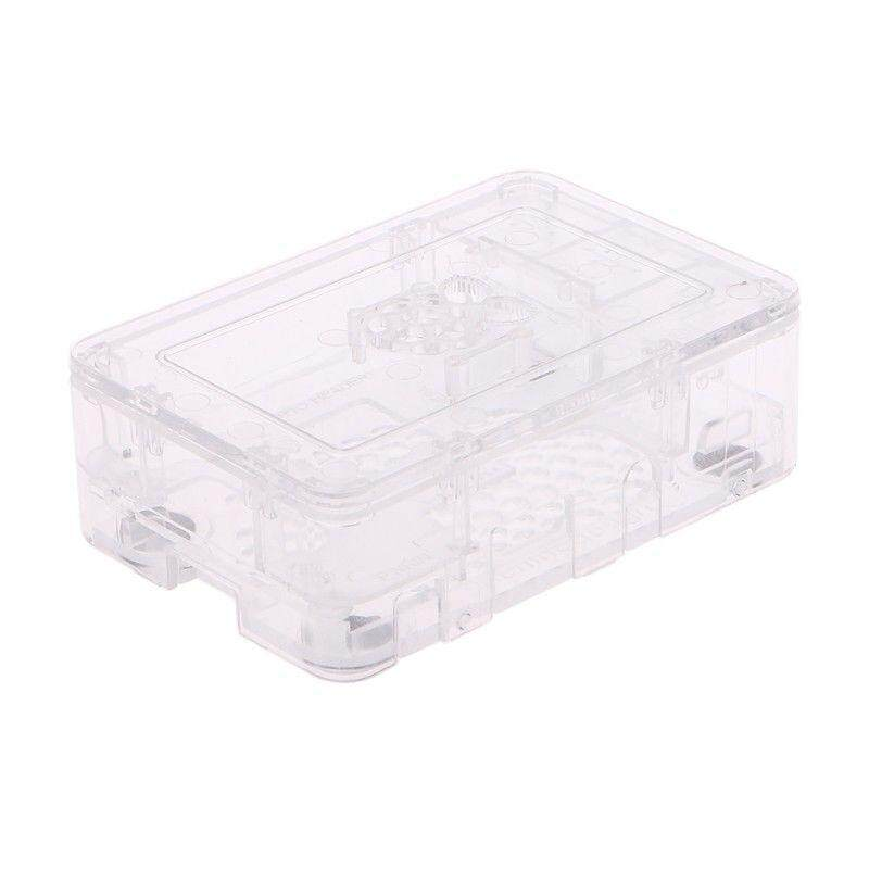 Hình ảnh ABS Updated Case Premium Raspberry Pi Case For Raspberry Pi 3 2 and B+ Transparent - intl