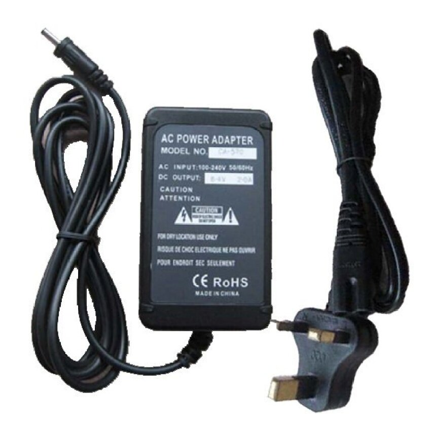 Adaptor AC Pengisi Ulang Daya untuk Canon LEGRIA IVIS LEGRIA HF10 HF11 HF20HF21HF100 HF200-Intl