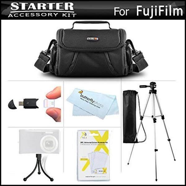 Aksesoris Kit Untuk Fuji Fujifilm FinePix HS30EXR, Fujifilm X-E1 SL300 S8200 S8300 S8400 S8500 S6800 S4700 S4800, SL1000 HS50EXR, x100S, X20, X-M1, X-E2, S8600, S9200, S9400W, S9800, S9900W, S1, x-T10-Intl