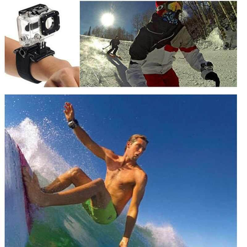 Brand New Accessories Set Kit For Gopro Hero 5 6 Chest Strap Wrist Strap J Type Base Intl