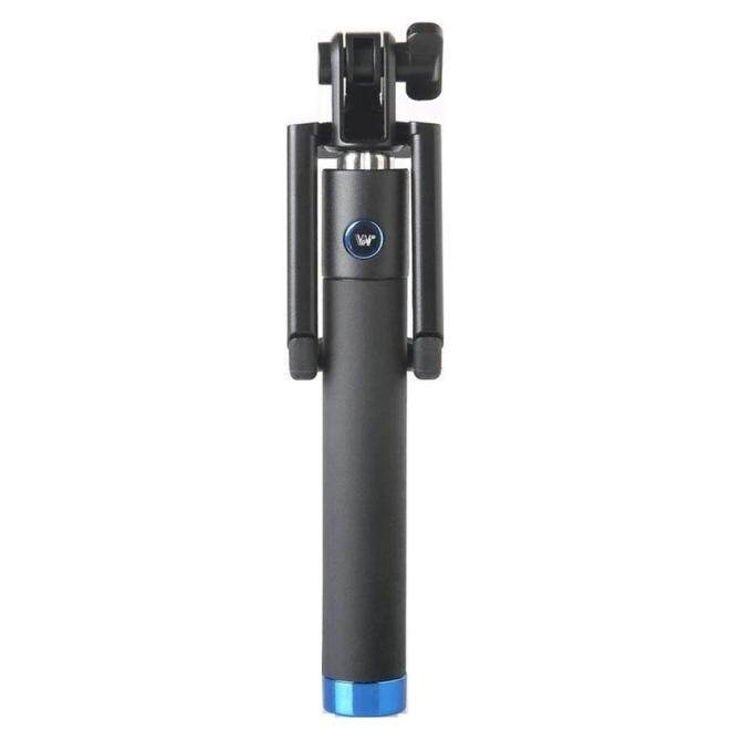 Hình ảnh JXFSMYAccessory Plus Selfie Stick for Phone Camera Handheld Monopod for outerdoor (Blue)