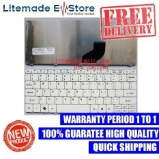Acer Aspire One happy2 Keyboard ( White ) Malaysia
