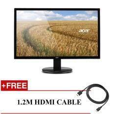 Acer K202HQL LED Monitor HDMI,D-SUB 19.5 + FREE 1.2M HDMI CABLE Malaysia