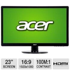 Acer S230HL 23 Inch Full HD LCD Monitor - Original 3 years warranty Malaysia