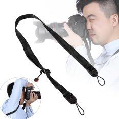 Adjustable Camera Shoulder Strap Sling With Quick Release Buckle For Digital Cameras(black) By 1buycart.