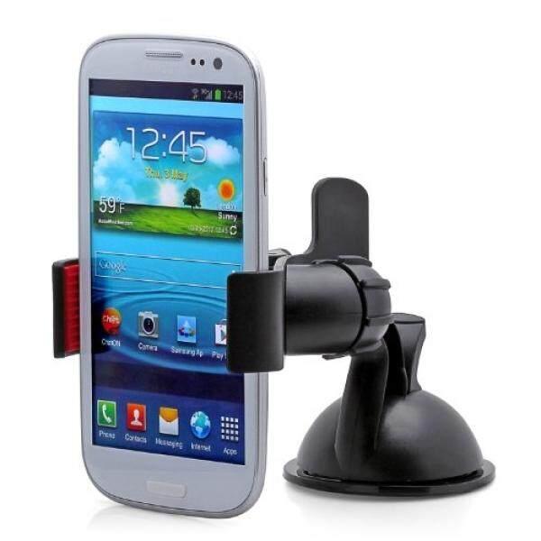 Aduro Pegangan Klip Universal Dasbor Windshield Mobil Dudukan untuk Ponsel Pintar, apple iPhone 5/5 S/5C/4/4 S/3G, samsung Galaksi S2/S3 /S4, Galaksi Note 2, Motorola Droid RAZR/Maxx, HTC EVO 4G, HTC Satu X, Revolusi LG, Pemegang GPS (Hitam)-Internasional