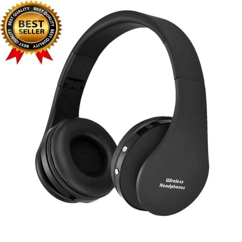 Rp 185.000. Ajkoy-Aye Beau NX-8252 Nirkabel Bluetooth Earphone Big Casque Audio Headphone Nirkabel Headset untuk Komputer Kepala Ponsel PC dengan ...