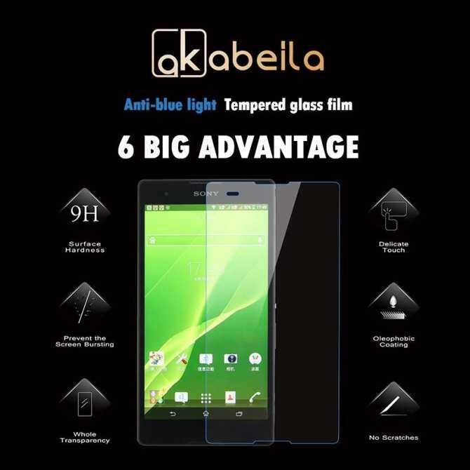 MYR 30. AKABEILA 2PCS Tempered Glass For Sony Xperia T2 XM50H D5306 6.0 Inch Ultra Dual D5322 D5303 XM50T Covers Screen Protector ...