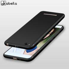 Akabeila Frosted Ultra-Tipis TPU Ponsel Sarung Xiaomi Redmi 4A Redmi4A Beras Merah 4A 5.0 Inch Lembut TPU Smartphone Case anti Debu Sarung Selular Penuh Pelindung Gores Tahan Cover Case