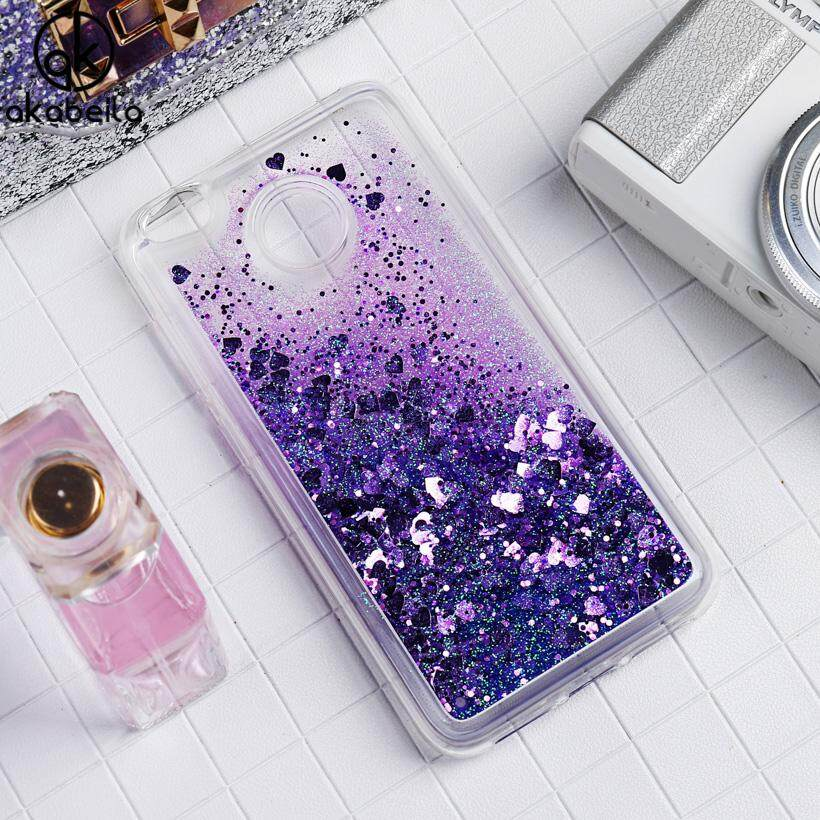 Buying Akabeila Silicone Case Cover For Xiaomi Redmi 4X Case Glitter Liquid Float Powder Silicone Case For Xiaomi Redmi 4X 5 Inch Cover Soft Tpu New Arrivals Painted Fashion Multi Color Shell Protector Anti Knock Housing Pattern Case Shell Intl